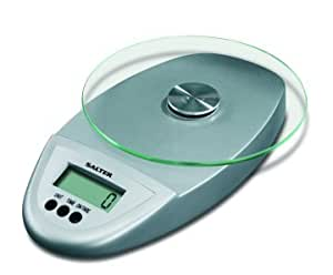 Salter Electronic Kitchen Scale With Glass