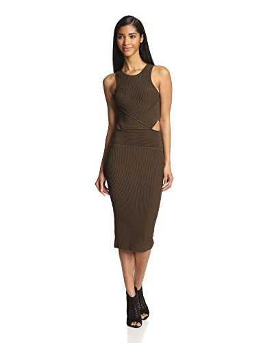 Torn by Ronny Kobo Women's Megan Ribbed Dress