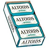 Altoids Curiously Strong Mints, Wintergreen, 1.76-Ounce Tins (Pack of 12)