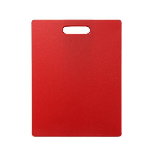 Farberware Poly Cutting Board, 11-Inch by 14-Inch, Red (Farberware Poly Cutting Board compare prices)