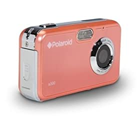 Polaroid CAA-300CC 3MP CMOS Digital Camera with 1.8-Inch LCD Display (Coral)