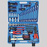 Werkzeugkoffer 105tlg – 1/4″ + 1/2″-Antrieb Super-Lock – Chrom-Vanadium – Industriequalität