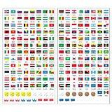 デビカ 世界の国旗シール