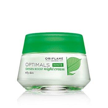 Optimals White Oxygen Boost Night Cream Oily Skin