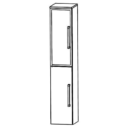 Puris Speed (HNA033BL / R Tall Cupboard Bathroom Cupboard 30 CM