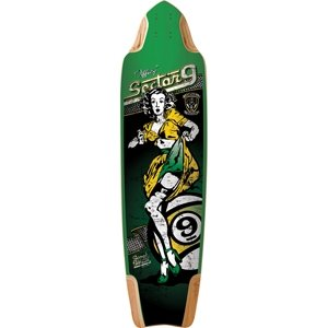 Sector 9 Tiffany Skateboard Deck, Assorted, 10.0 X 37.2-Inch