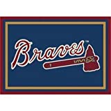 "Atlanta Braves 5 4"" x 7 8"" Team Spirit Area Rug"