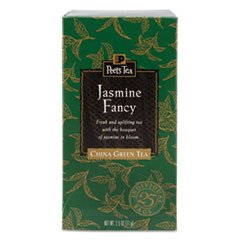 * Tea Bags, Jasmine Fancy, 2.5 Oz, 25/Box