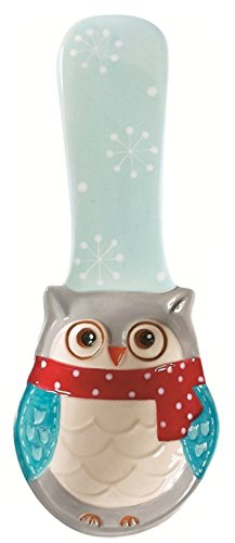 Boston Warehouse Snowy Owls Spoon Rest