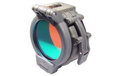 "Flip Up Red Filter For Surefire Flashlights With 1.25"" Diameter Bezels"