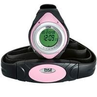 Pyle Sports Pyle Sports PHRM38PN Heart Rate Monitor Watch with Minimum, Average Heart Rate, Calories, Target Zones, Pink