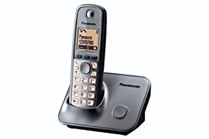 Panasonic KX-TG6611EM Single Digital Cordless Phone - Silver