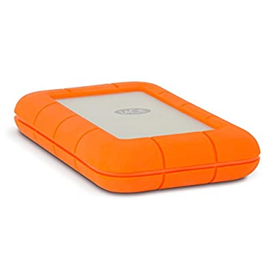 LaCie Rugged Thunderbolt LAC9000489 2TB External Hard Drive (Orange)