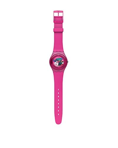 Swatch Orologio al Quarzo Woman PINK LACQUERED SUOP100 41 mm