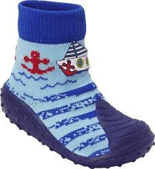 Blue with Boat & Red Anchor BabyShocks
