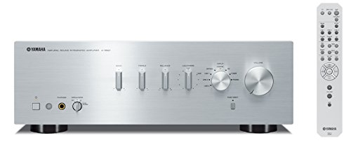 Yamaha A-S501SL Natural Sound Integrated Stereo Amplifier (Silver)