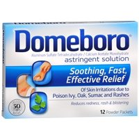 Domeboro Astringent Solution Powder Packets, 12 ea - 2pc