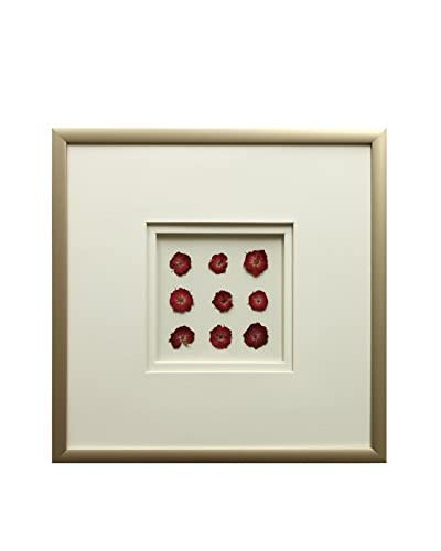 Star Creations Mini Rose 9-Patch Shadowbox Art