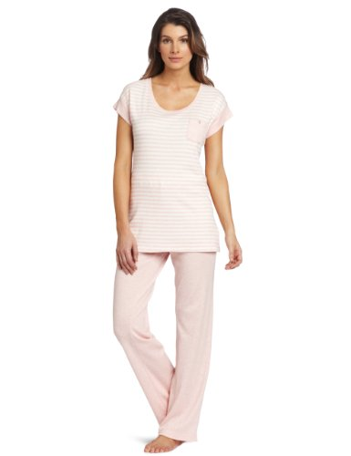 Carole Hochman Women's Front Pocket Capri Pajama Set