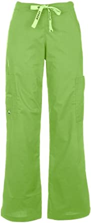 Karla Five Pocket Scrub Pant KIWI X-SMALL