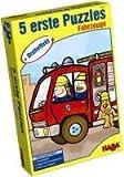 HABA 2433 - Dreheffekt Fahrzeuge Puzzle