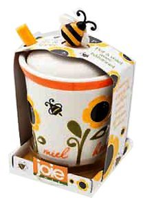Best Deals! MSC Mini Honey Pot & Dipper
