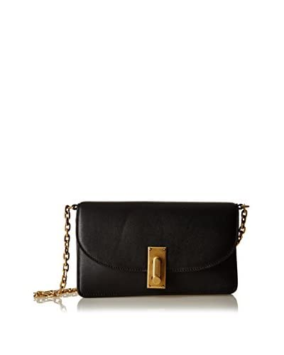 Marc Jacobs Bandolera Leather Wallet Chain