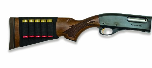 Great Features Of Mossy Oak Buttstock Shotgun Shell Holder (Black, One Size)