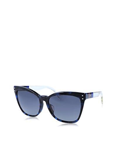 Fendi Sonnenbrille Ff 0098/F/S (53 mm) schwarz/blau