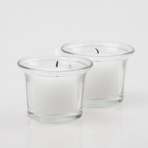 Set of 12 Eastland® Votive Holders (Clear Oyster Cocktail Votive Holder)