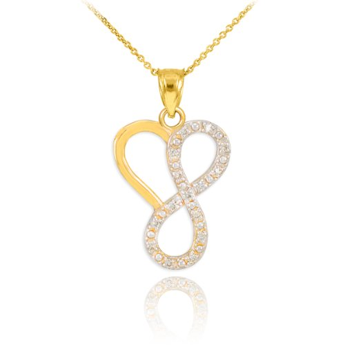 Dainty-14k-Yellow-Gold-Diamond-Infinity-Heart-Pendant-Necklace-18