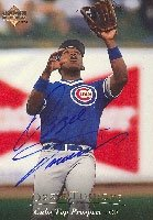 Ozzie Timmons Iowa Cubs - Cubs Affiliate 1994 Upper Deck Top Prospect Autographed... by Hall+of+Fame+Memorabilia