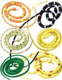"New Set of 12 Rubber 36"" Coiled Rubber Prop Toy Snakes"