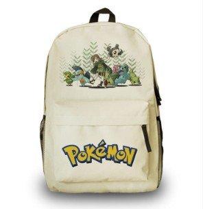 Cuero-de-la-vaca-Piel-Cartera-Multi-bolsillos-Monedero-Cartera-fina-hombre-Anime-Purse-Pokemon-Go-Bag-Pikachu-Mochila-Historietas-Blanco