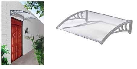 Good Ideas Outdoor Garden Door Canopy, Awning (1172) Protects from Sun, Rain, Sleet or Snow!