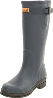 Ariat Women's Mudbuster Boot,Navy,4 M US