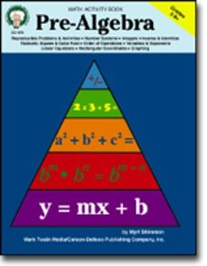 Pre-Algebra for Grades 5-8 by Carson Dellosa