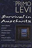Survival In Auschwitz 1st (first) edition