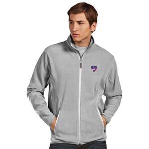 Fc Dallas Mens Ice Polar Fleece Jacket (Color: Grey) - Large