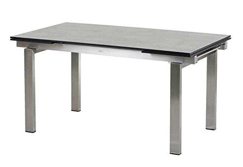 Diamond Garden DiGaCompact-Tischplatte f. Tischgestell Neapel Schalbrett Beton
