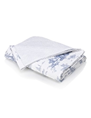Toile Print Throw