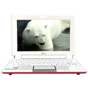 Asus Eee PC 1000HD Celeron M 900MHz 1GB 120GB 10.1 Netbook XP Home (Pink)