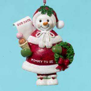 "RESIN ""MOMMY TO BE"" ORNAMENT - Christmas Ornament"