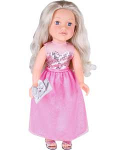 Designafriend Pink Sparkle Dress Outfit Ij652ei Doll Not Included Garden