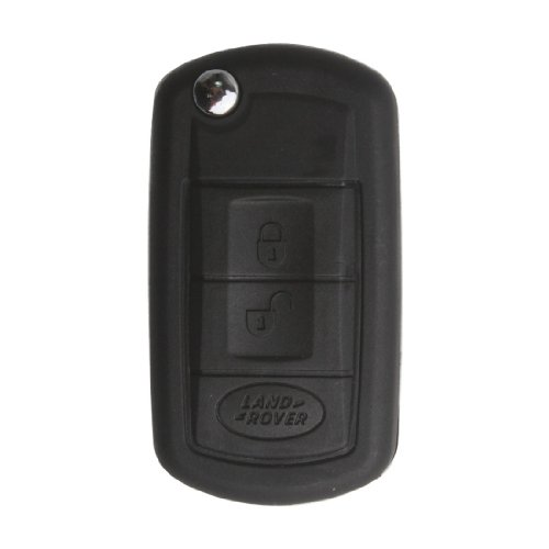 No Chips New Uncut Flip Folding Key Case For 2004 04 Land Rover Range Rover Sport Lr3 Discovery Flip Fob 3 Btn