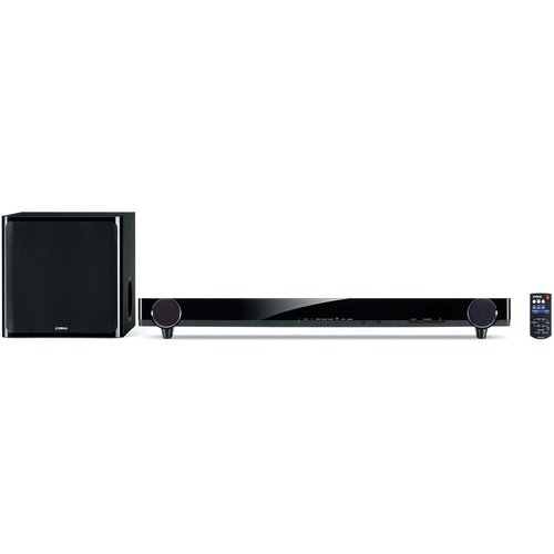 Yamaha Sound Bar & Wireless Active Subwoofer System (Black)