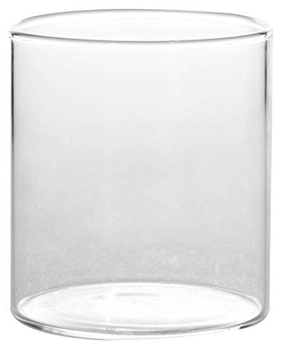 Borosil Vision Small Squat Glass, 210ml, Set of 6