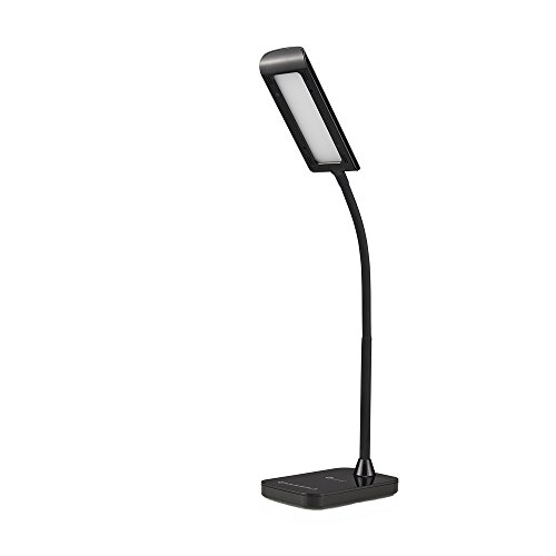 TaoTronics LED Desk Lamp, Gooseneck Table Lamp 7W, Touch Control, 7 Brightness levels