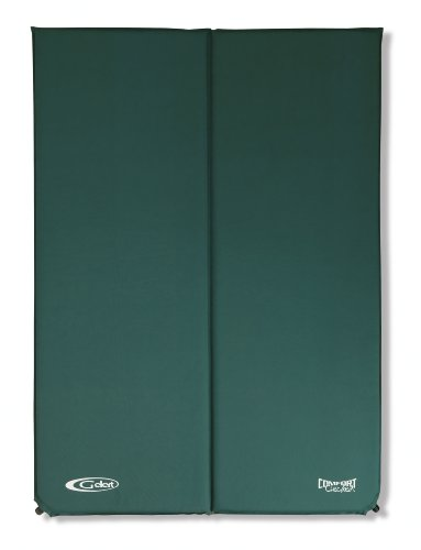 Gelert Xpedition Double Mat - Forest Green/Black