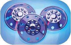 Dicor SHSD16 16 Stainless Steel Wheel Cover
